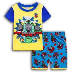 Merchandise Kids T-Shirts Shorts Set Thomas The Train Pjs