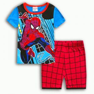 Merchandise - Kids T-Shirts Shorts Set Spider-Man Merch