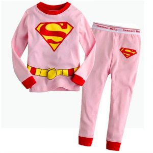 Collectibles Boy'S Pajama Sets Superman Pink Red Top Pants