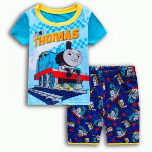 Merchandise Kids T-Shirts Shorts Set Thomas The Train Apparel