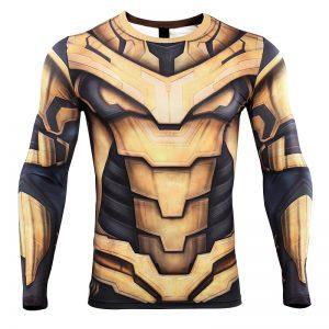 Collectibles Thanos Rashguard Armor Armor Avengers 4