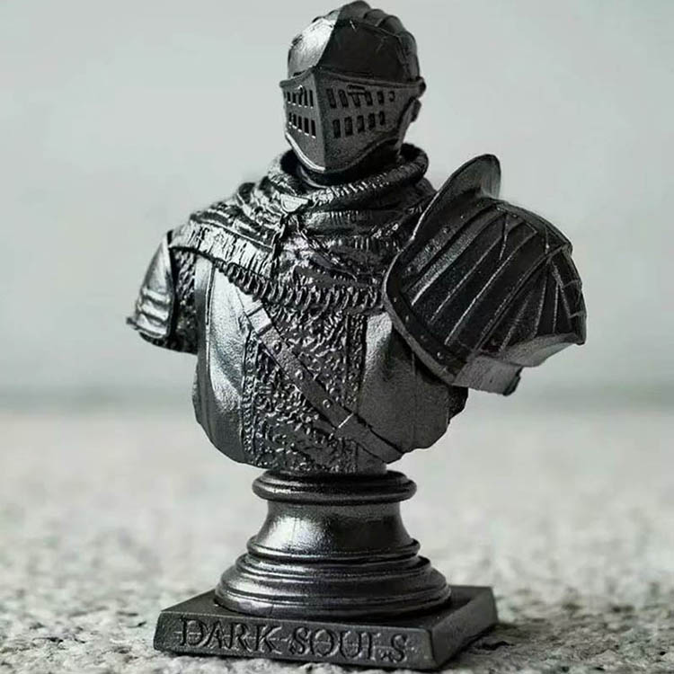 Merch Scale Bust Dark Souls Collectible Knight Character 7Cm