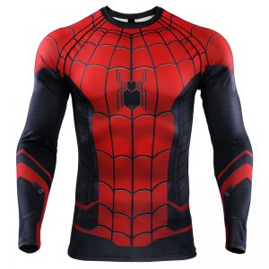 Collectibles Rash Guard Spider-Man Far From Home