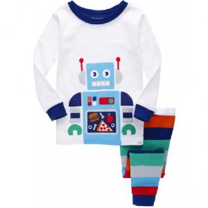 Merch - Boy'S Pajama Sets Roboter Robot Top Pants