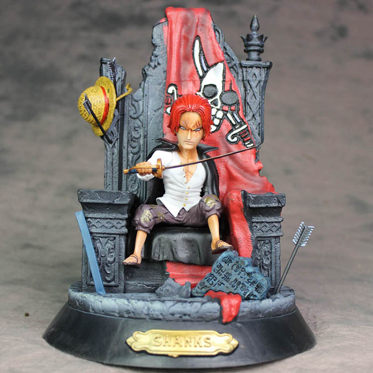 Collectibles Action Figure Shanks One Piece Scale Collectible 24Cm
