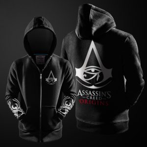 Merch Hoodie Assassin'S Creed Origins Black Pullover