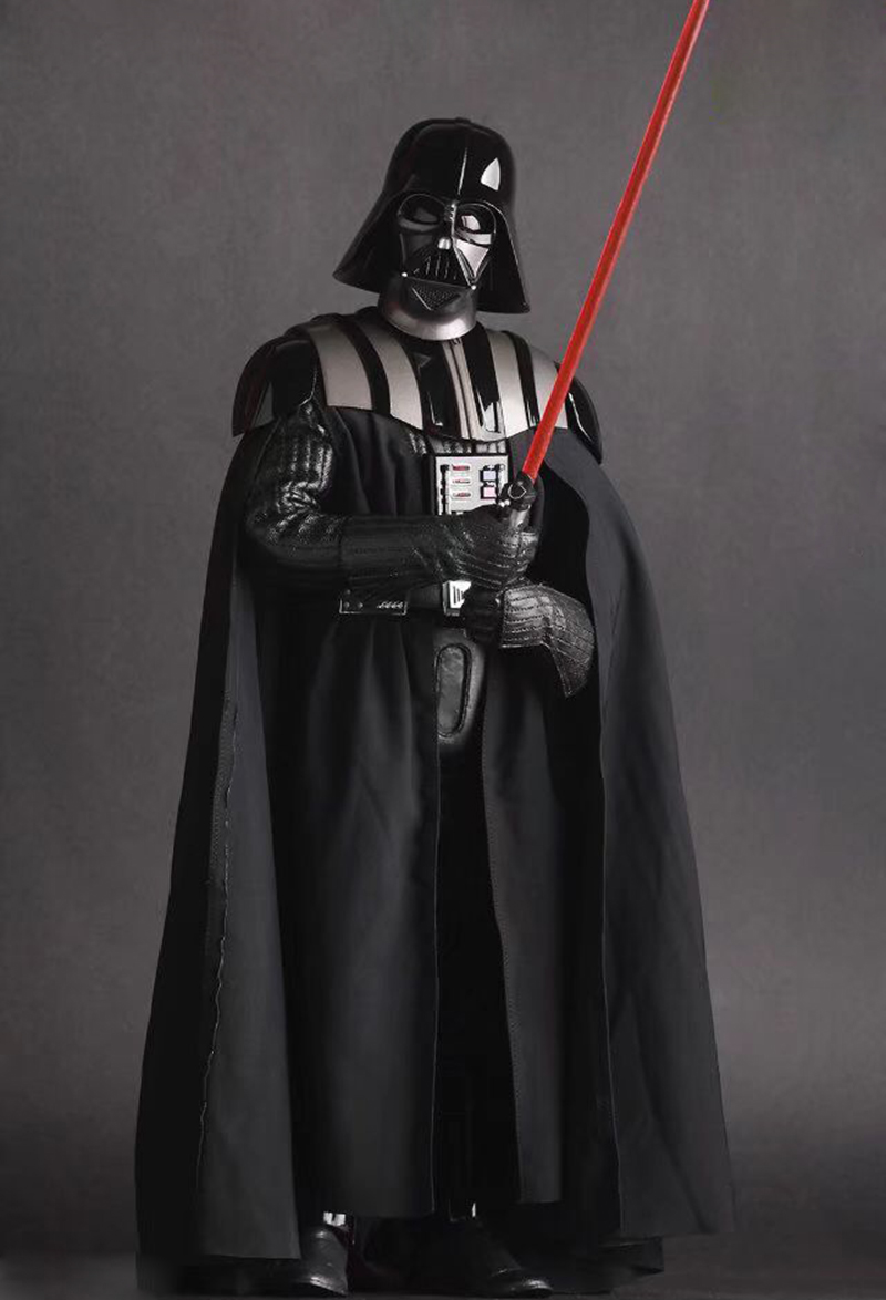 Merch Action Figure Darth Vader Star Wars Scale Collectible 28Cm
