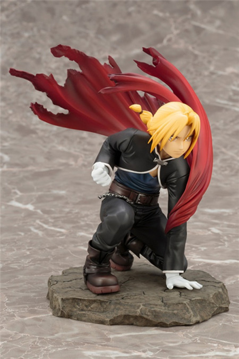 Merch Action Figure Fullmetal Alchemist Edward Elric W/ Cloak
