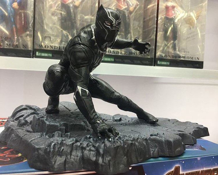 Merchandise Action Figure Black Panther Scene Scale Collectible 15Cm