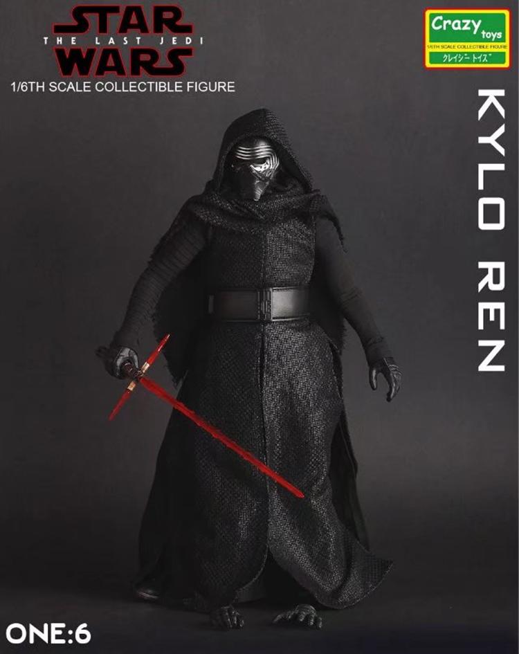 Merch Action Figure Kylo Ren Star Wars Scale Collectible 27Cm