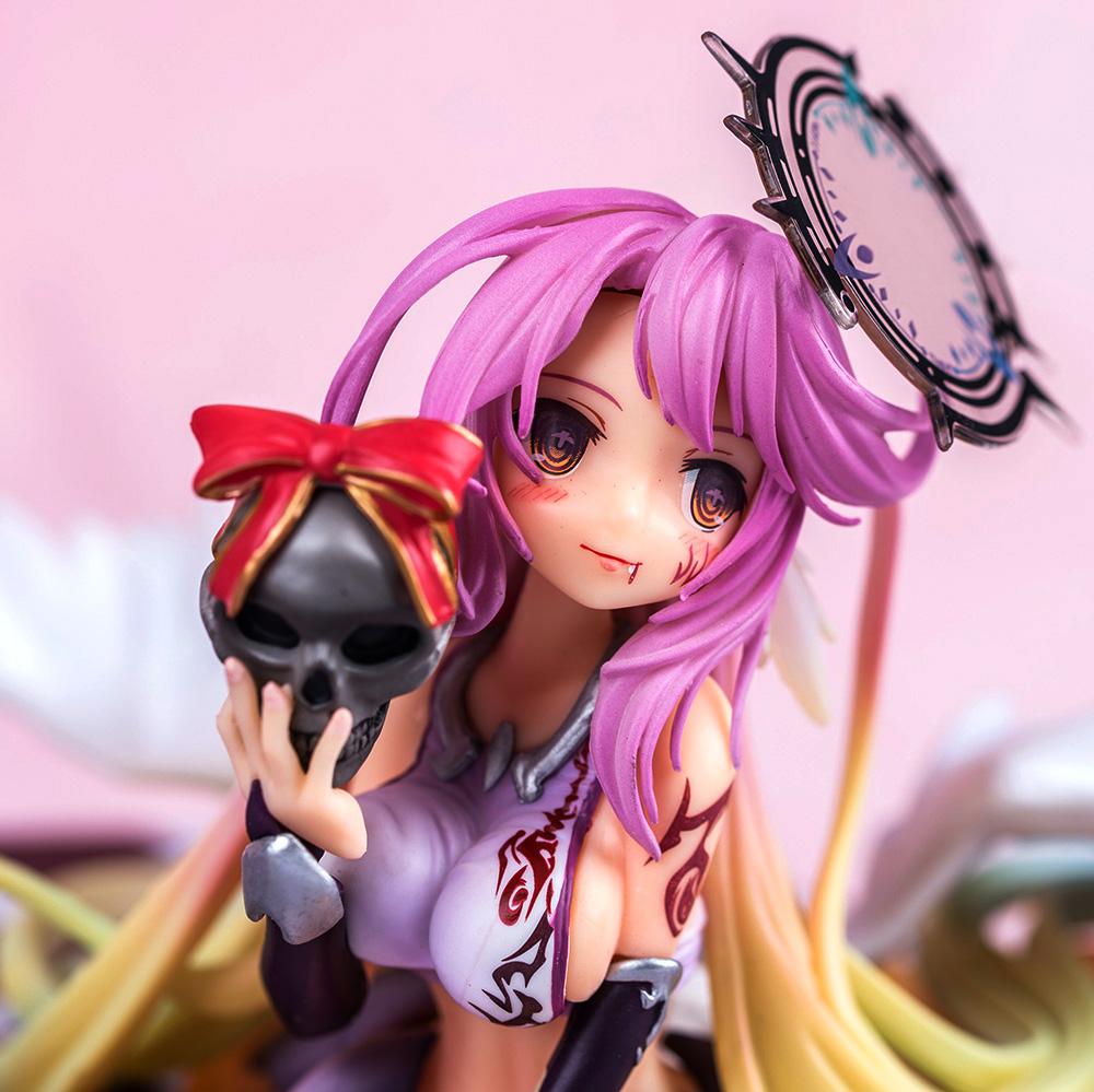 Merchandise Scale Figure No Game No Life Gypsy Angel Anime 19Cm
