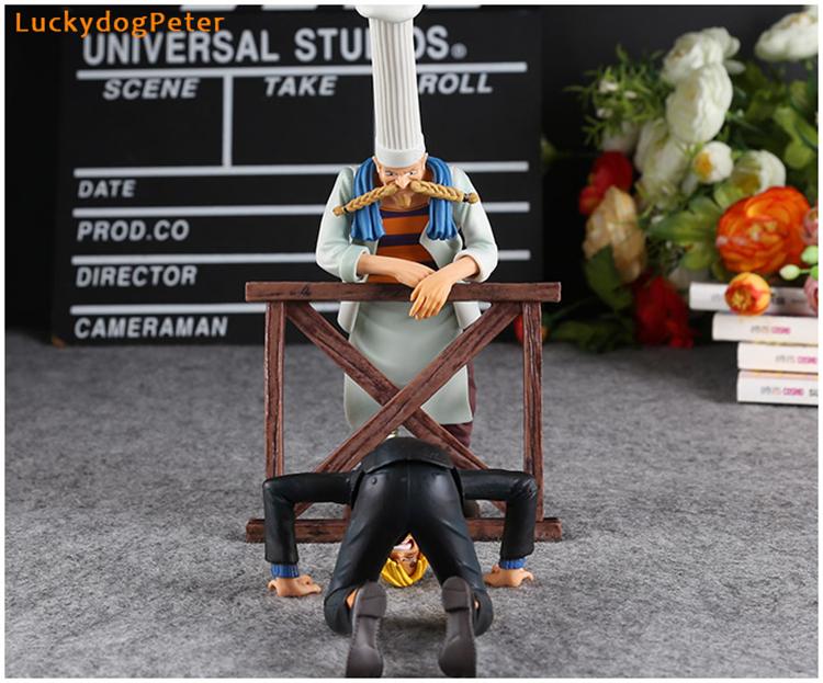 Merch Action Figures Set One Piece Scene 6Th Season Sanji Zeff