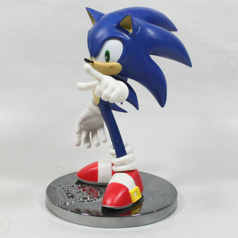 Collectibles Action Figure Sonic 20 Years Scale Collectible 15Cm