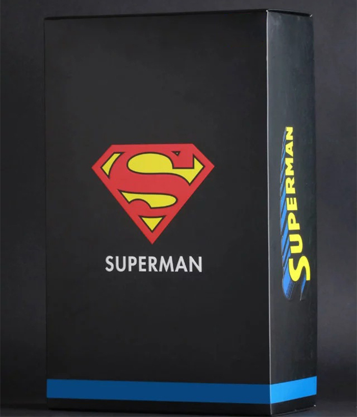 Merchandise Action Figure Superman Vintage Scale Collectible 28Cm