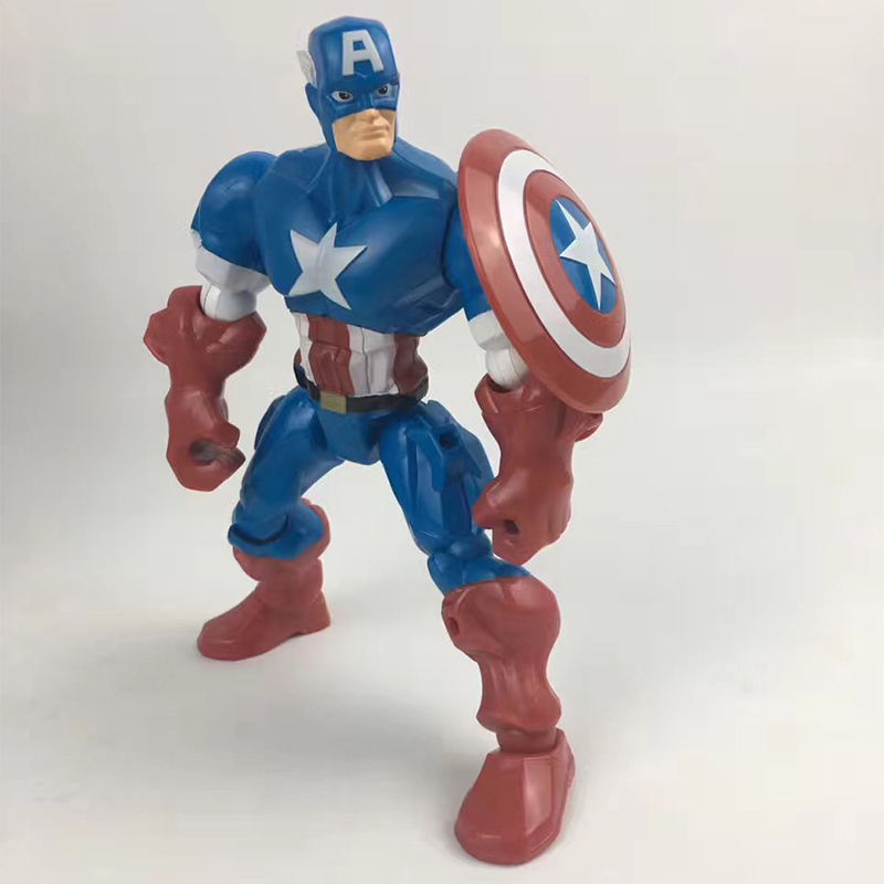 Merchandise Figure Captain America Toy Superhero Mashers 15Cm