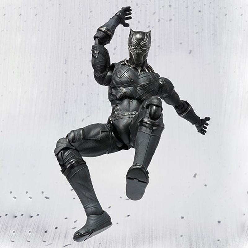 Merchandise Action Figure Toy Black Panther Armor 17Cm T'Challa
