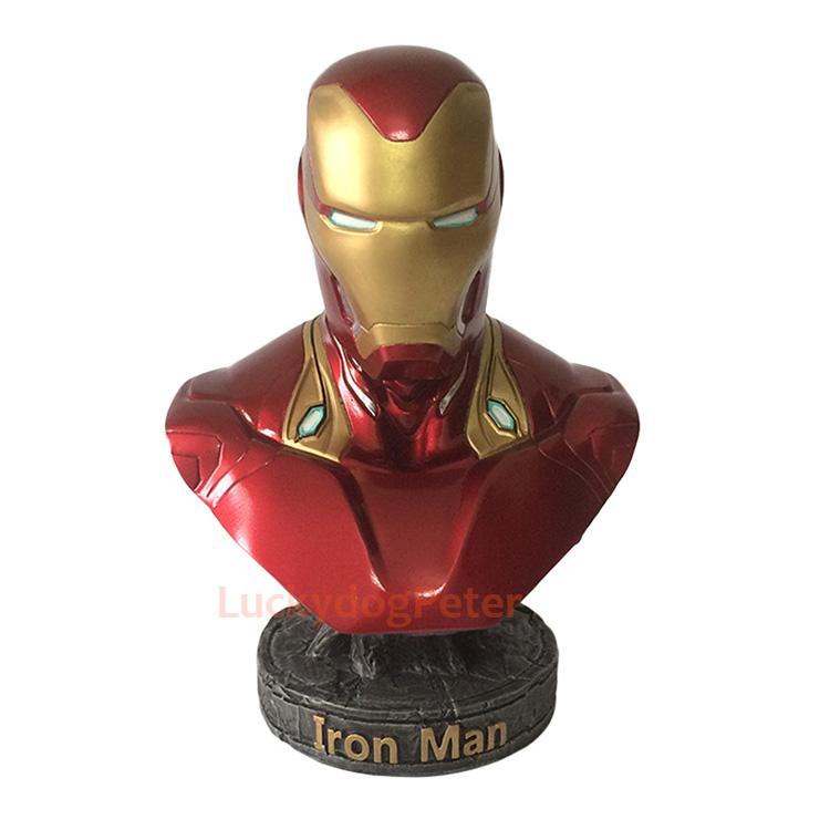 Merch Scale Bust Iron Man Mk50 Avengers 3 Collectible 18Cm