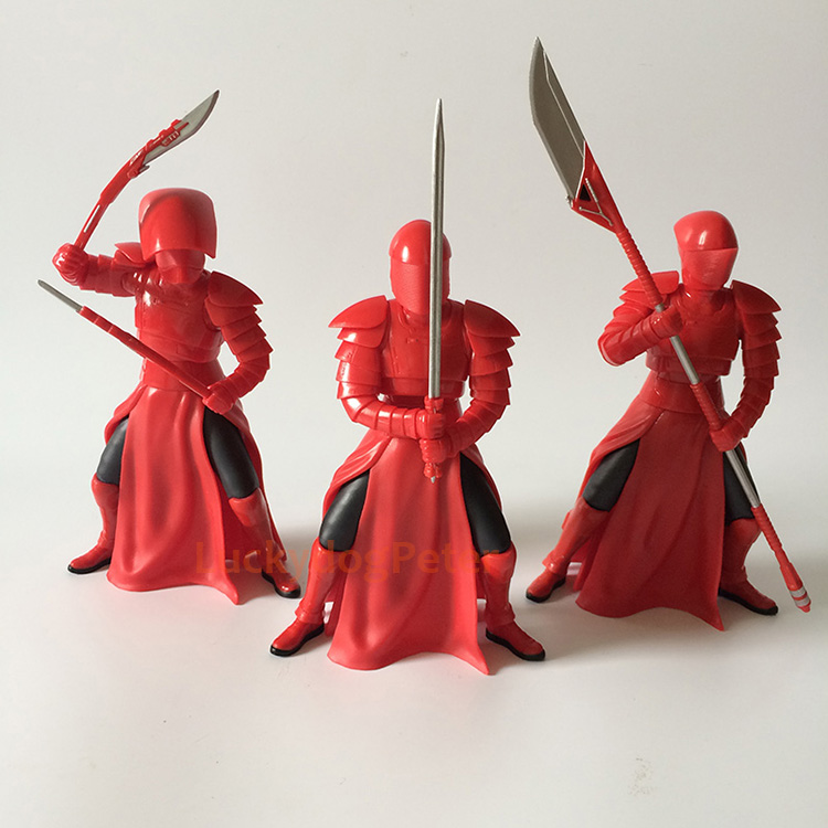 Merch Action Figure Toy Red Guard Star Wars Sword 18Cm