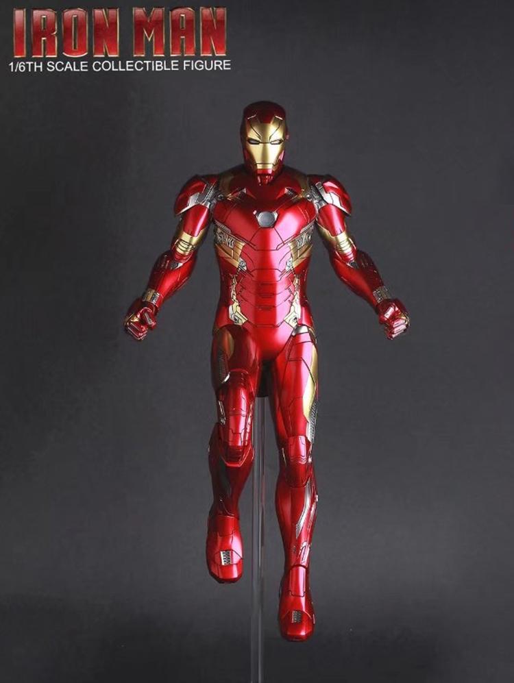 Merch Action Figure Iron Man Mk46 Armor Costume 27Cm