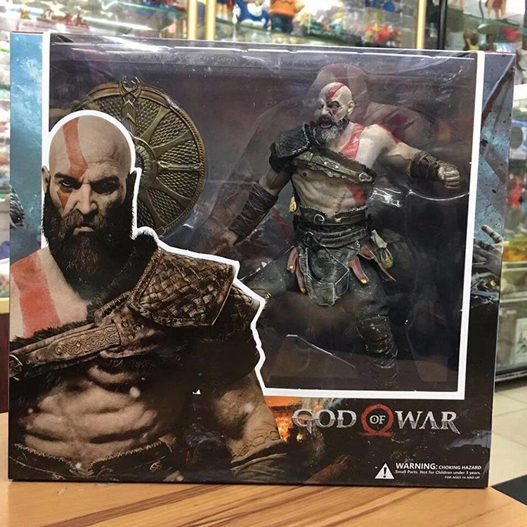 Collectibles Action Figure Kratos God Of War 4 Scale Collectible 22Cm