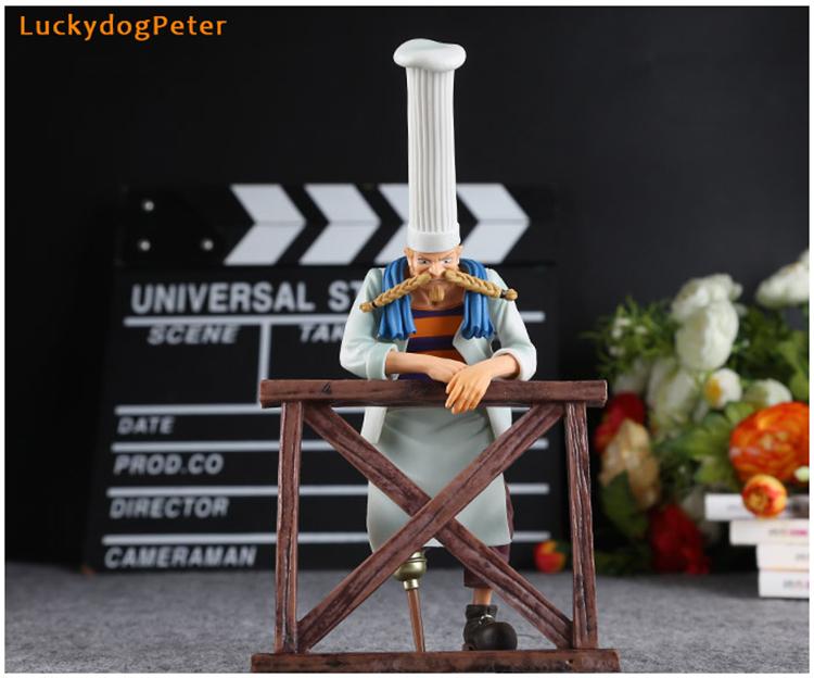 Merchandise Action Figures Set One Piece Scene 6Th Season Zeff