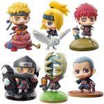 Merch Figures Set Naruto Next Generation Scale Mini Collection 5.5Cm