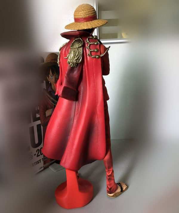Action Figure Monkey D Luffy King Of Artist One Piece 25cm