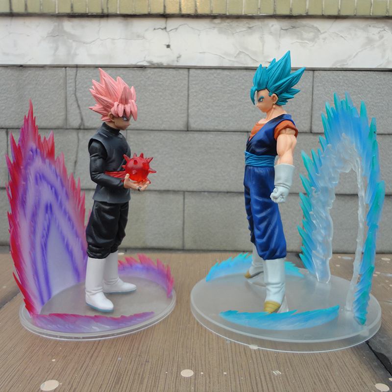 Merch Action Figure Dragon Ball Z Black Goku Zamasu 18Cm