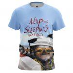 Merch - T-Shirt Nap And Sleeping In Las Vegas Sloth