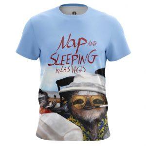 Merchandise T-Shirt Nap And Sleeping In Las Vegas Sloth