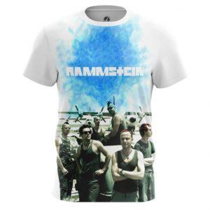 Merch Rammstein T-Shirt Band Oldschool Print