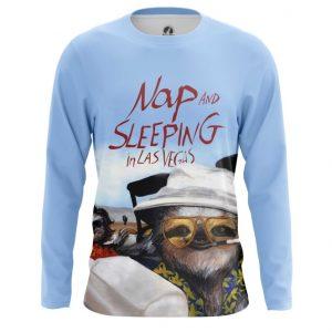 Merchandise Long Sleeve Nap And Sleeping In Las Vegas Sloth