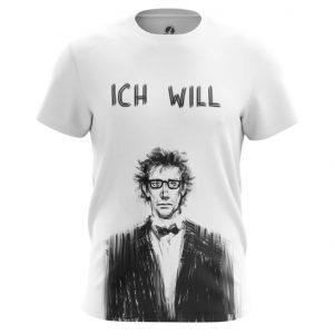 Merch T-Shirt Ich Will Rammstein Band Print