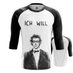 Merch Raglan Ich Will Rammstein Band Print