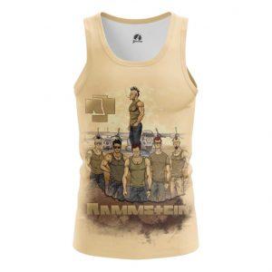 Merch Tank Rammstein Painted Fan Art Singlet Vest