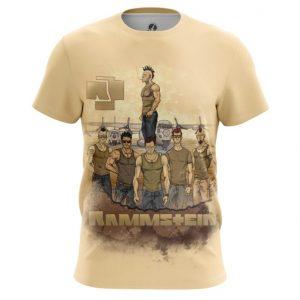 Merch T-Shirt Rammstein Painted Fan Art