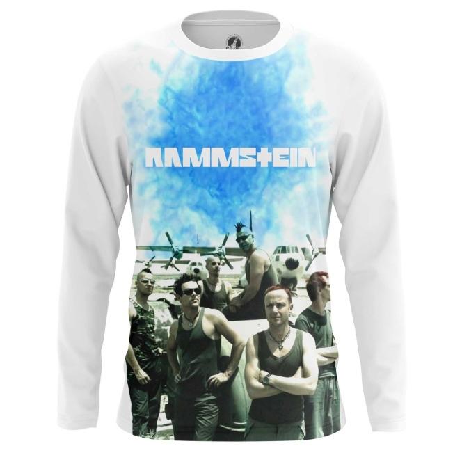 Merch Long Sleeve Rammstein Band Oldschool Print
