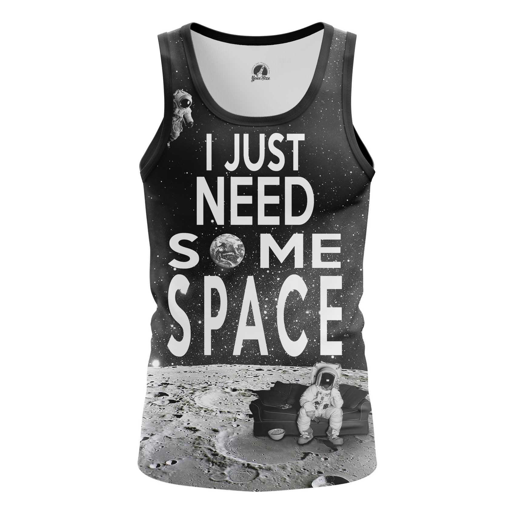 Collectibles Men'S T-Shirt Need Space Moon Universe