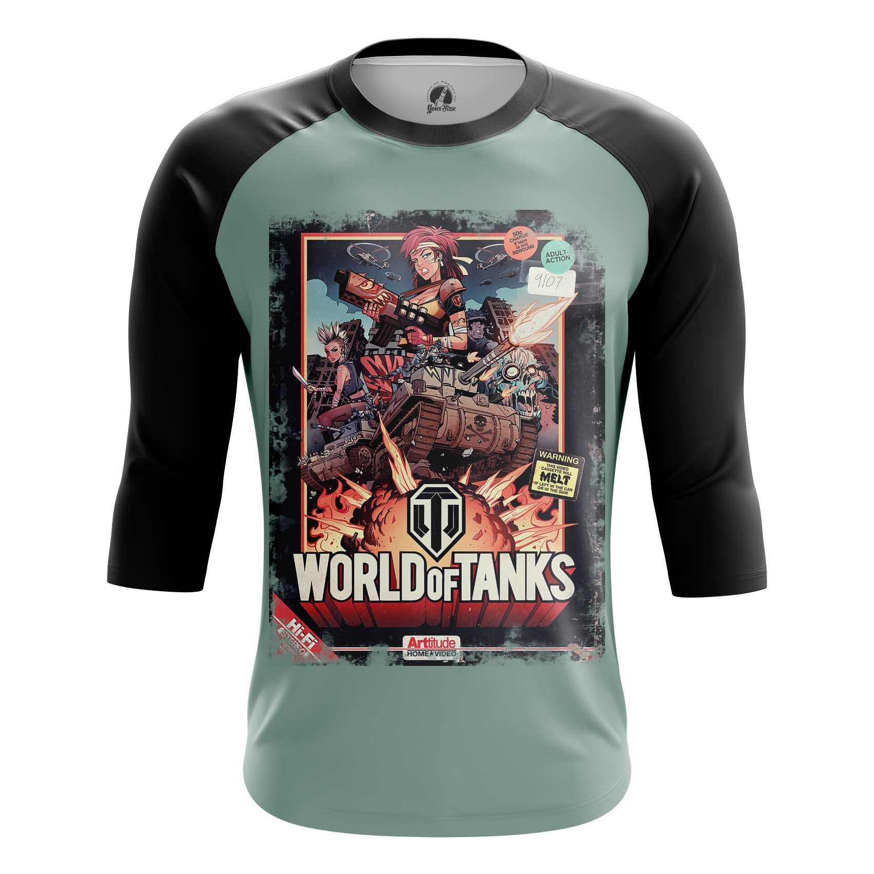Merch Men'S T-Shirt World Of Tanks Fan Art Illustration