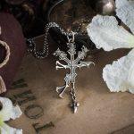 Collectibles Silver Cerberus Necklace Final Fantasy