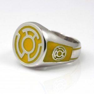 Collectibles Yellow Lantern Ring Dcu Sintestro
