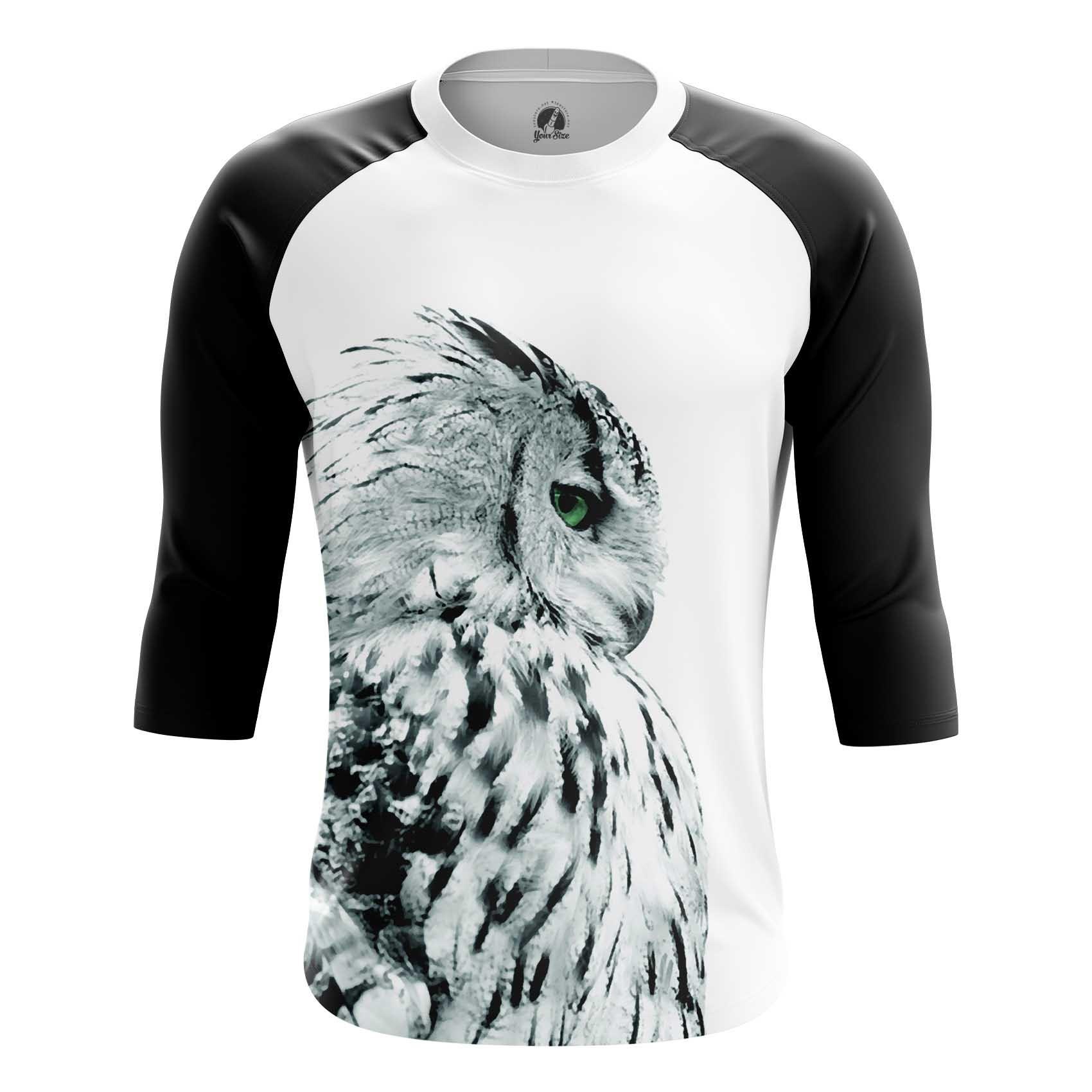 Merch Men'S T-Shirt Polar Owl Birds Art Animals Shirts