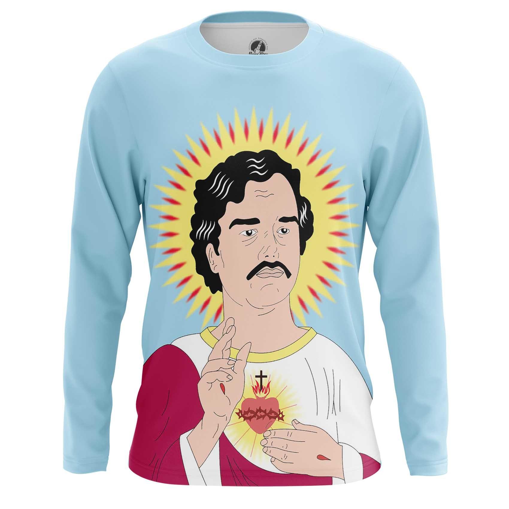 Collectibles Long Sleeve Pablo Escobar Warm Heart