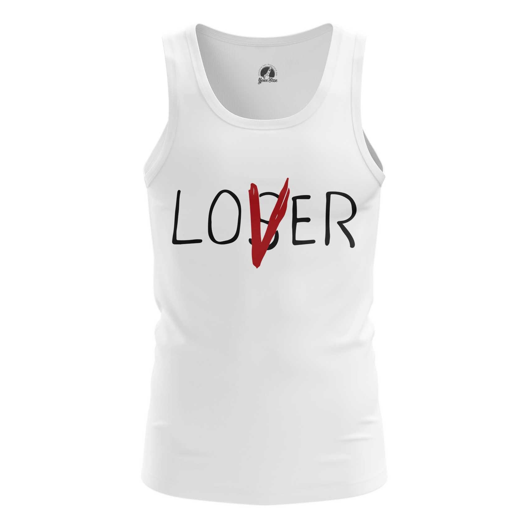 Collectibles Men'S T-Shirt Loser Lover It Stephen King 2017