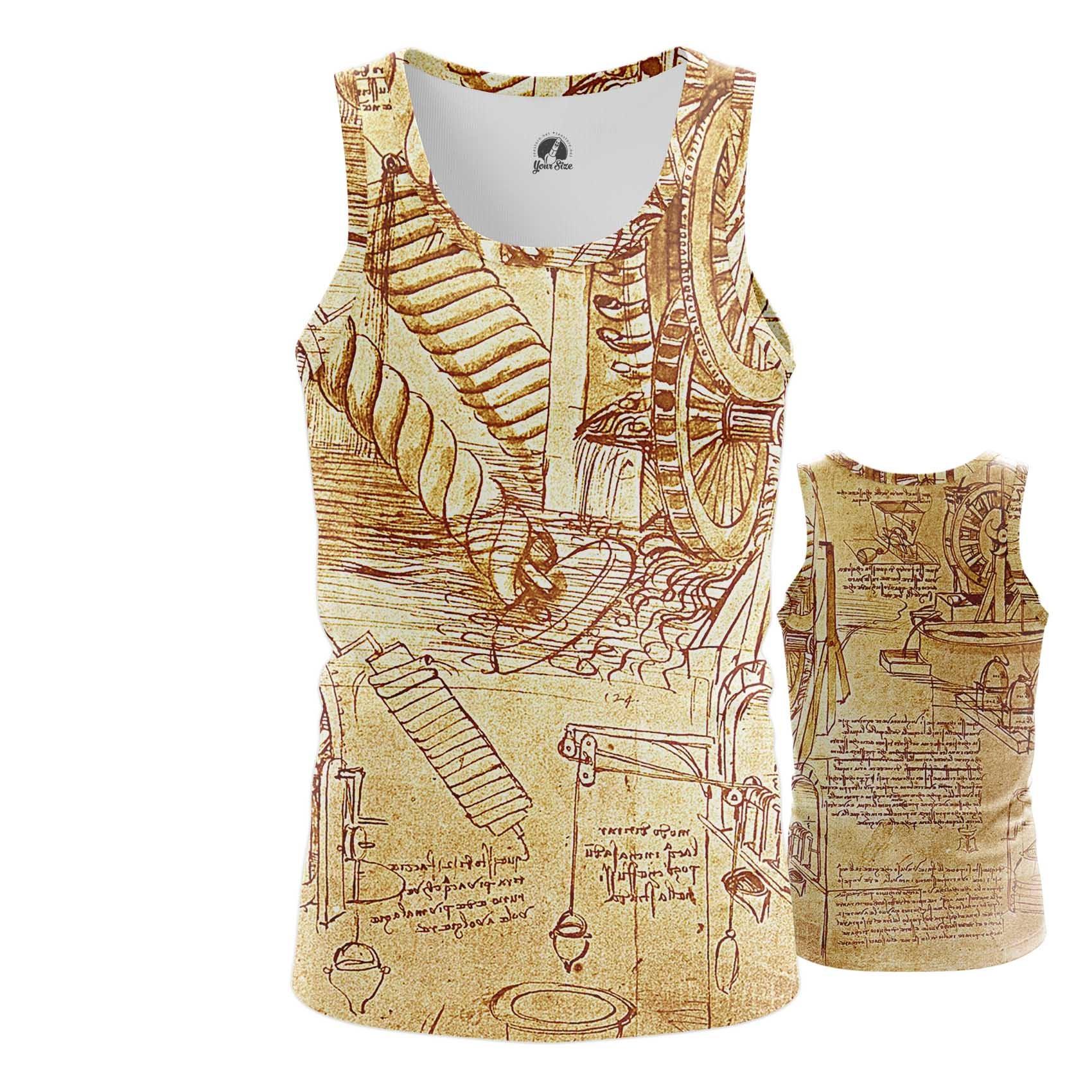 Merch Da Vinci T-Shirt Inventions Leonardo Fine Art