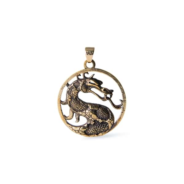 Merchandise Mortal Kombat Necklace Logo Hand Made