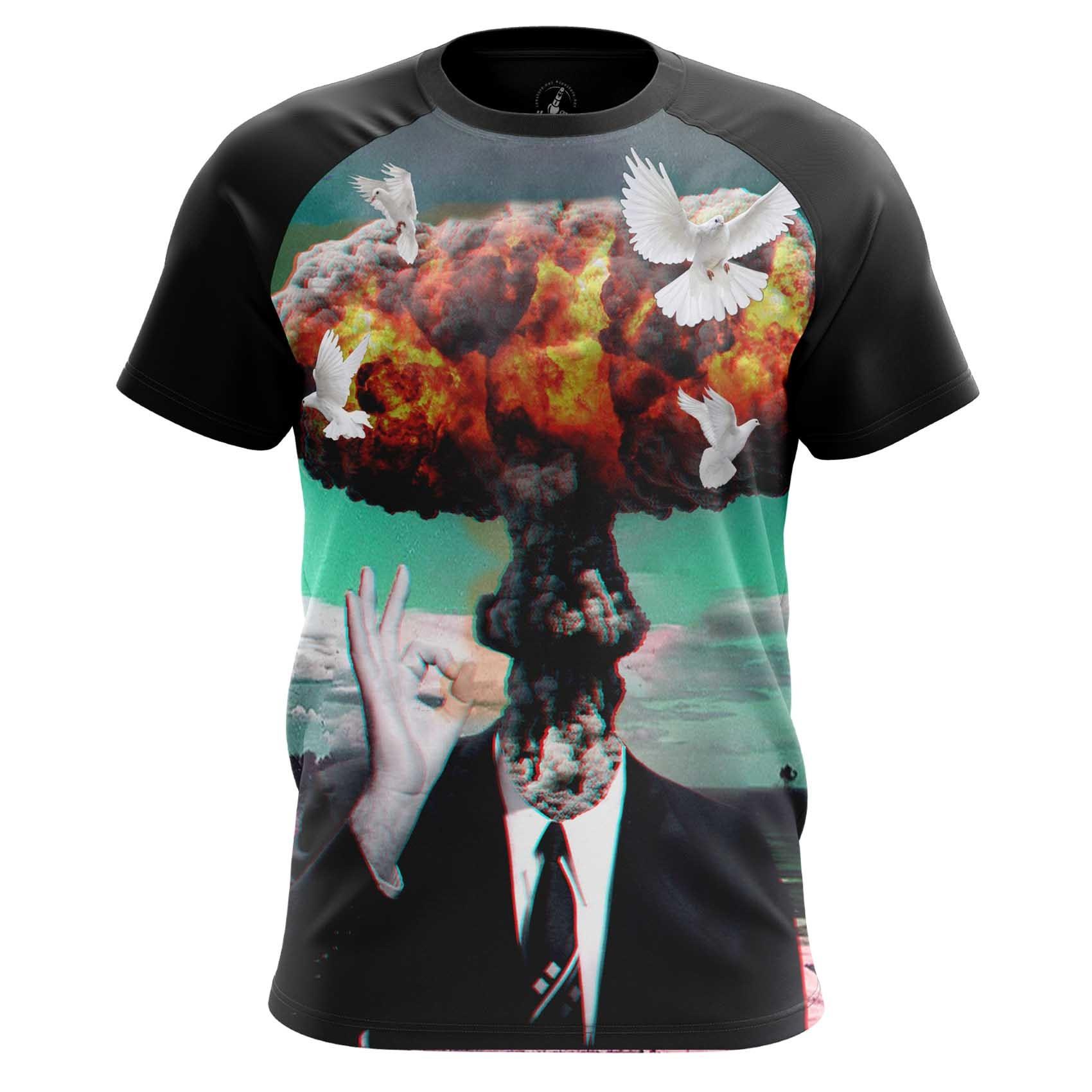 Collectibles Men'S T-Shirt Headache Nuke Blow Shirt