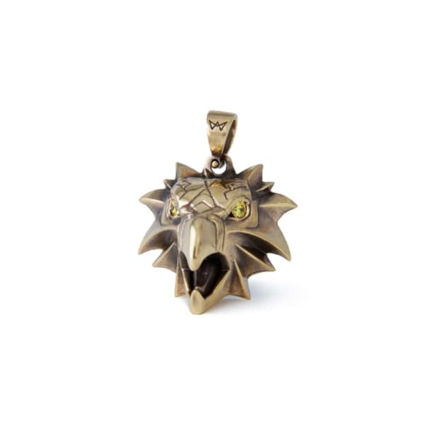 Merchandise The Witcher Gryphon Amulet Brass