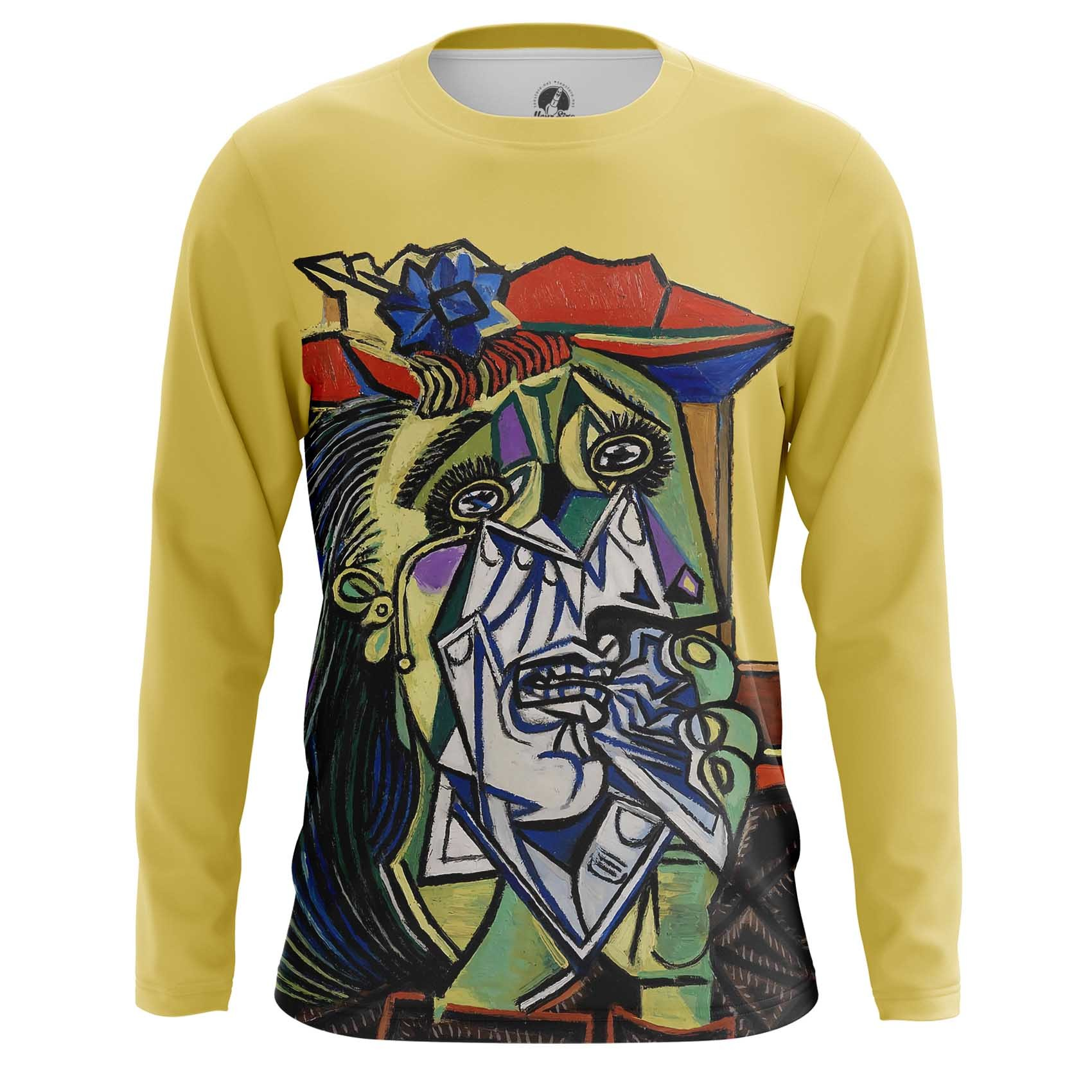 Merchandise T-Shirt Weeping Woman Pablo Picasso Artwork