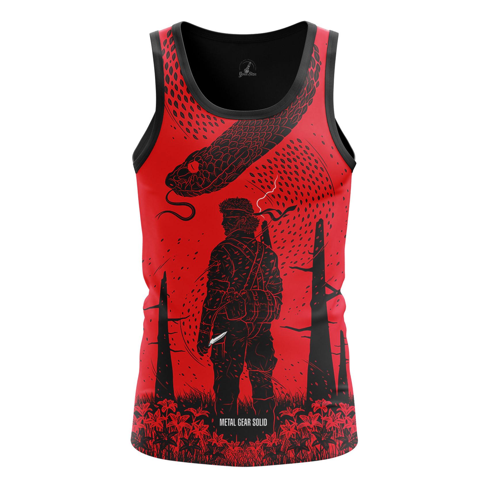 Merchandise Men'S Tank Metal Gear Solid Game Vest